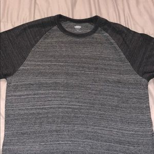 Gray Baseball T-Shirt